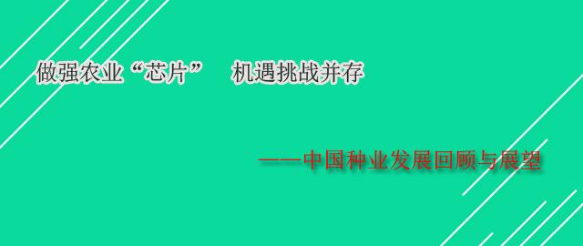 """做强农业""""芯片"""" 机遇挑战并存——中国种业发展回顾与展望"""