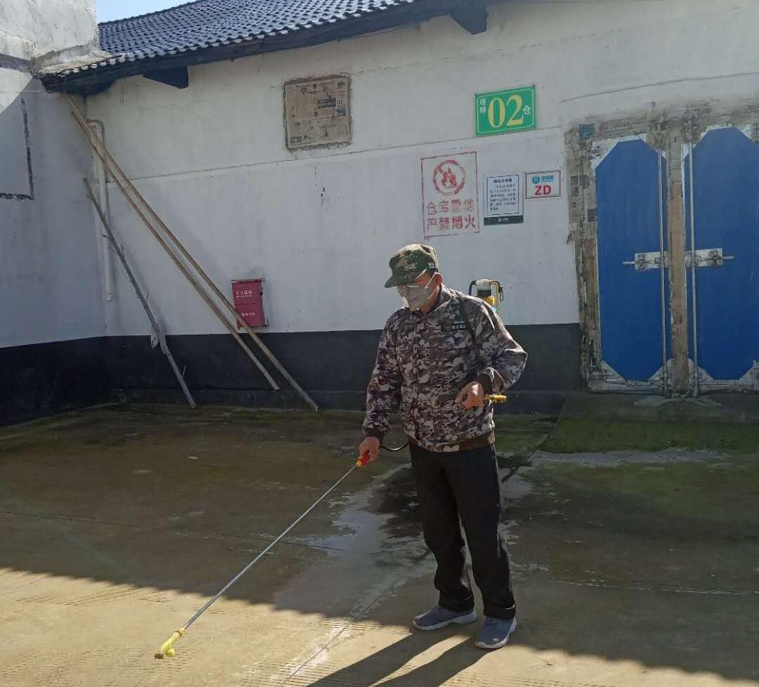贵溪粮油流通服务中心周密部署疫